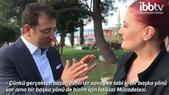 Ä°BB Başkanı Ekrem Ä°mamoğlu ile Candan Erçetin´den Ä°stanbullulara 30 Ağustos daveti - Sayfa 1