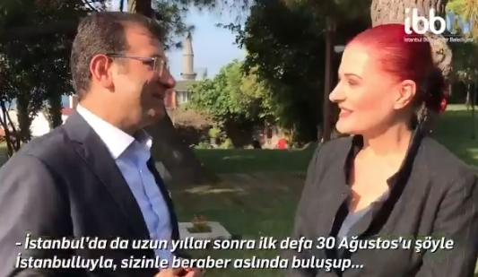 İBB Başkanı Ekrem İmamoğlu ile Candan Erçetin´den İstanbullulara 30 Ağustos daveti - Sayfa 3