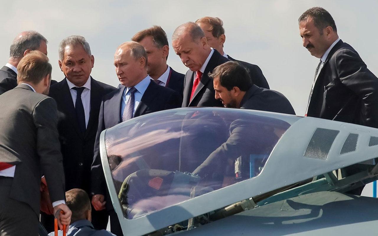 Kritik zirve öncesi Erdoğan ile Putin arasındaki Su-57 sohbeti olay!