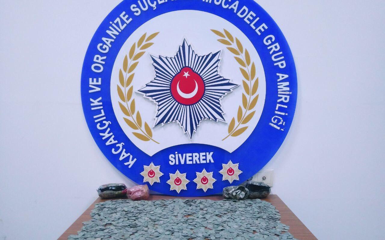 Şanlıurfa'da yakın İslam tarihi dönemine ait 4 bin 203 gümüş sikke ele geçirildi