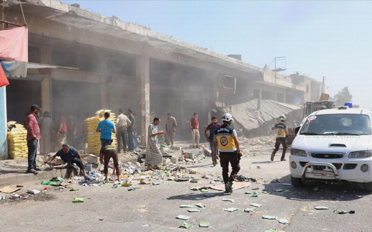 Esed rejiminden İdlib'e hava saldırısı 6 ölü