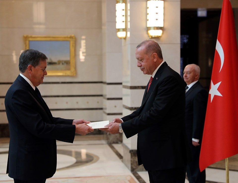 Erdoğan'a güven mektubu sundu! ABD'nin Ankara Büyükelçisi Satterfield'den ilk mesaj - Sayfa 1