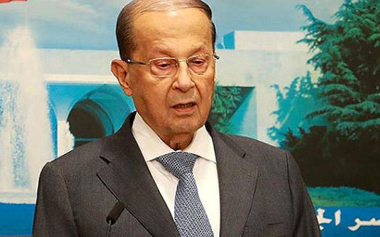 Lübnan Cumhurbaşkanı'ndan İsrail'e açık uyarı: Bu bir savaş ilanıdır