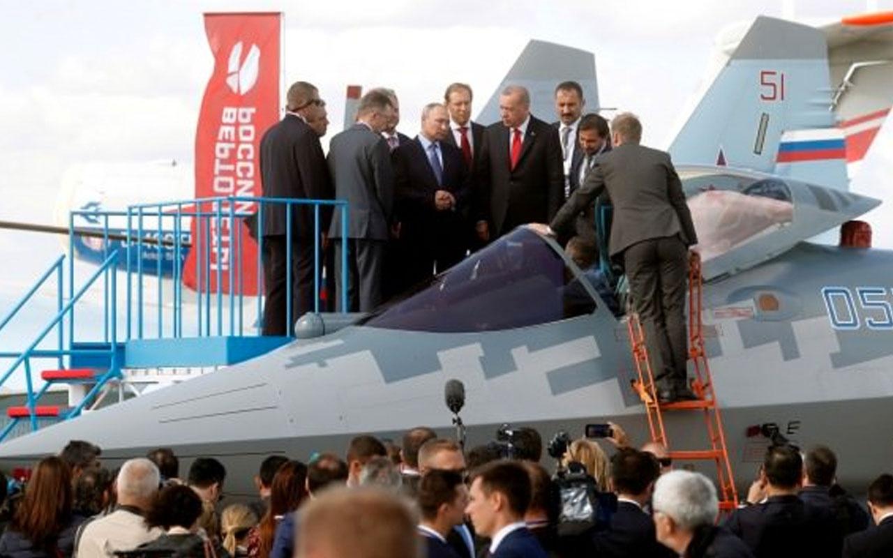 Putin ve Erdoğan sinyali vermişti Türk ve Rus yetkililer SU-35 ile SU-57'lerin teslimatını görüşüyor