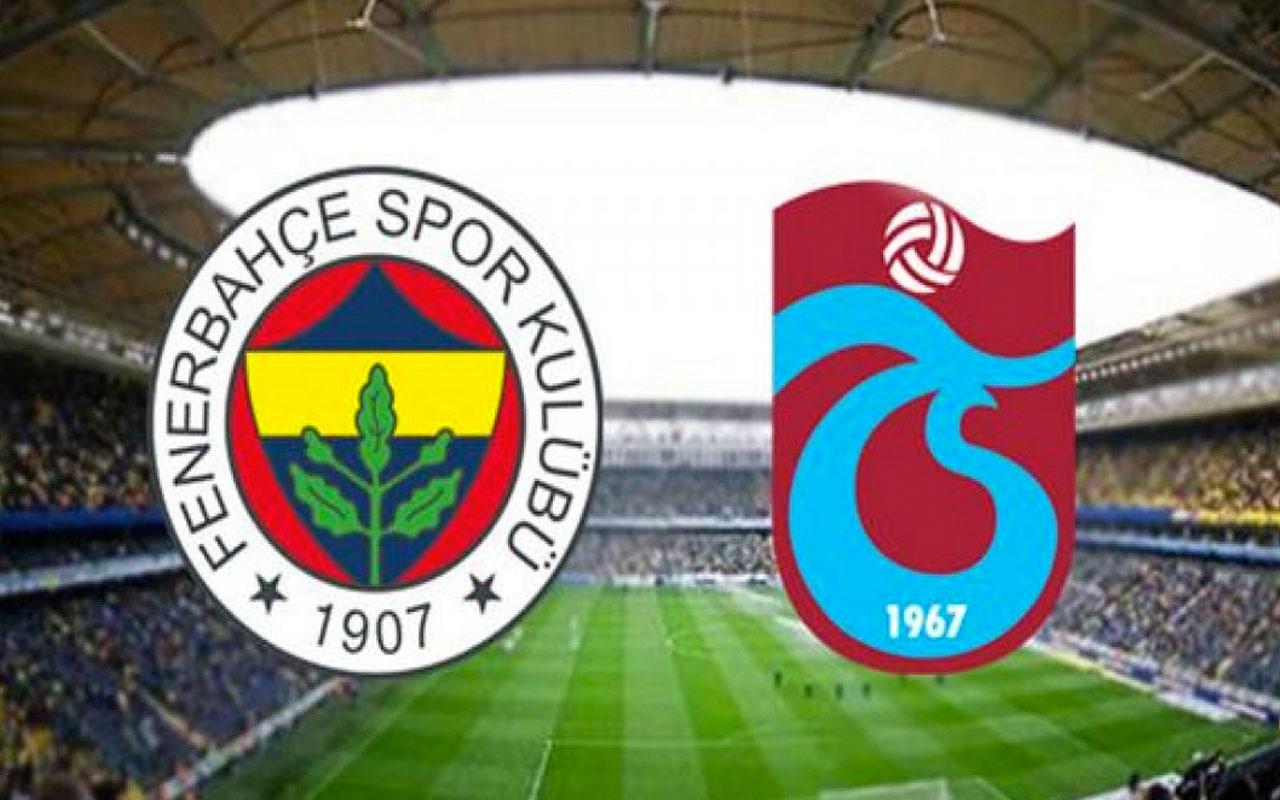 Fenerbahçe Trabzonspor maçının hakemi belli oldu İşte 3. hafta fikstürü ve hakemleri