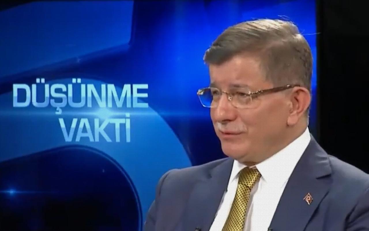 Ahmet Davutoğlu: Bir an bile tereddüt etmem