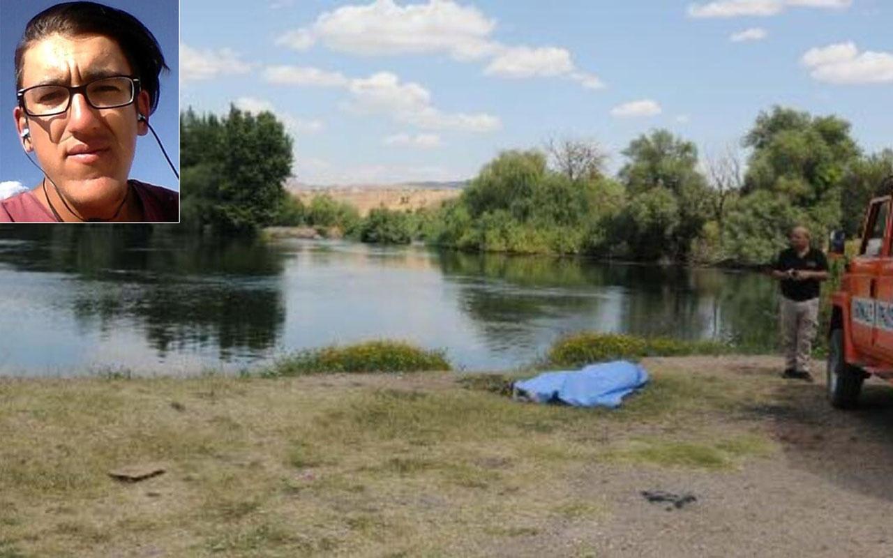 Kayseri'de seyyar satıcılık yapan gencin cesedi Kızılırmak'ta bulundu