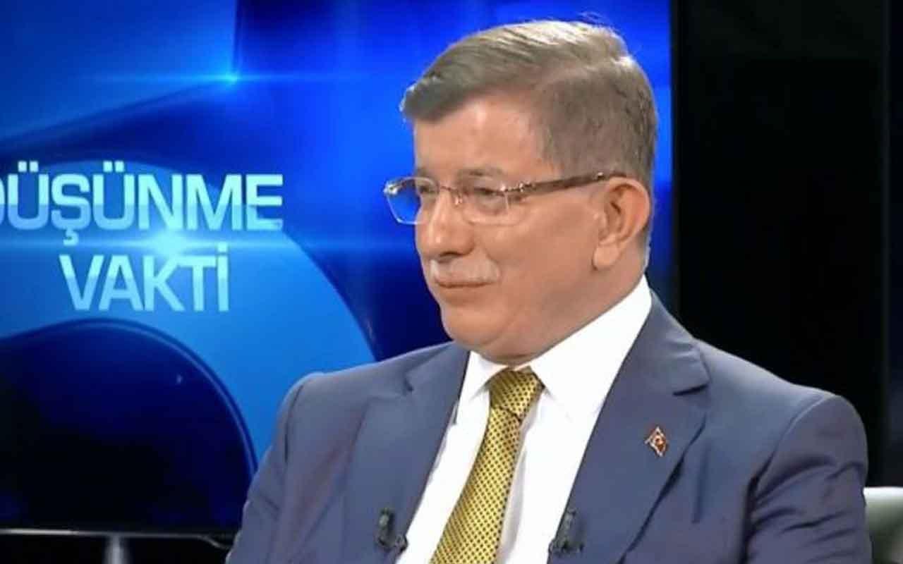 """Ahmet Davutoğlu """"İkinci sitemim de kendi partimeydi"""""""