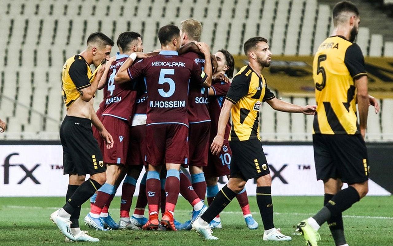 Trabzonspor AEK maçı hangi kanalda saat kaçta