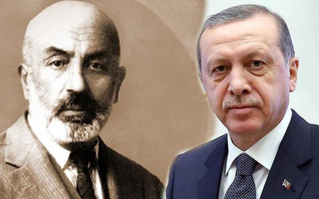 Cumhurbaşkanı Erdoğan Akif belgeseli için şiir okudu