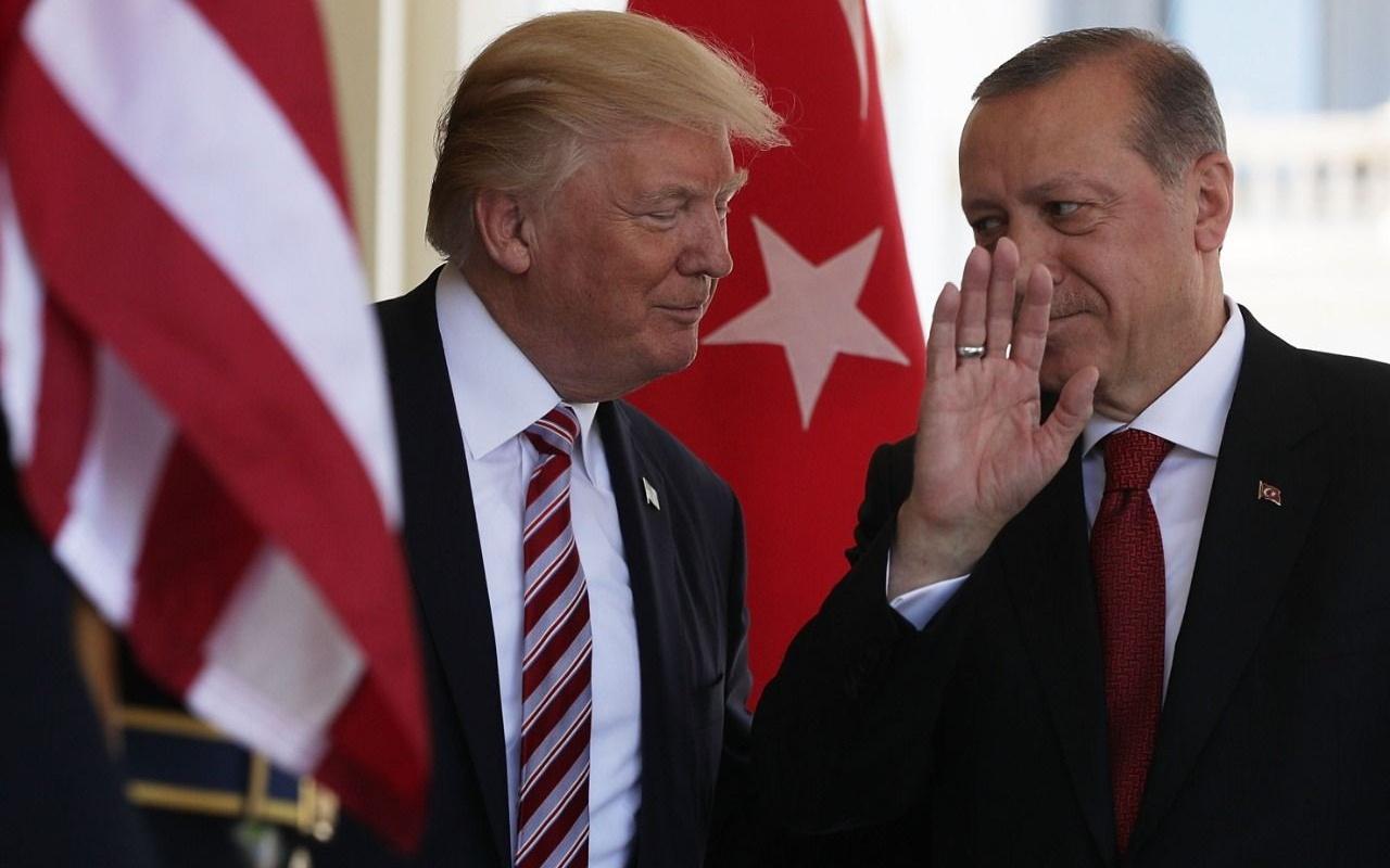 Cumhurbaşkanı Erdoğan ABD Başkanı Trump ile telefonda görüştü