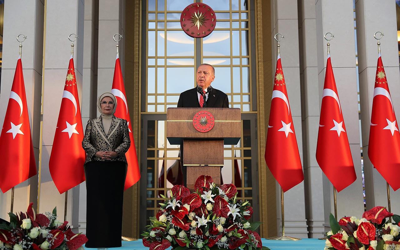 Cumhurbaşkanı Erdoğan'dan 30 Ağustos resepsiyonunda önemli açıklamalar