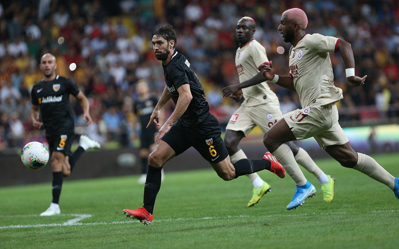 Kayserispor Galatasaray maçı golleri ve geniş özeti