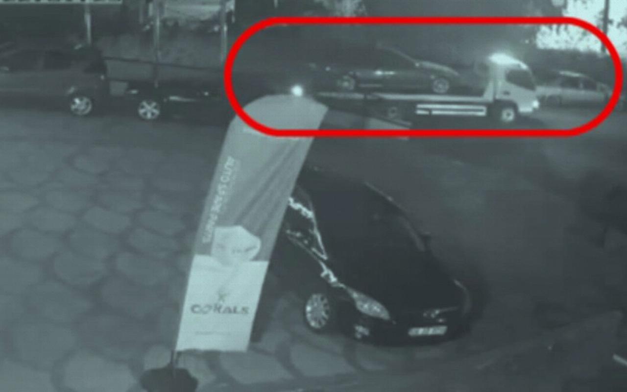 İstanbul'da çekiciyle araç çalan şüpheliler yakalandı