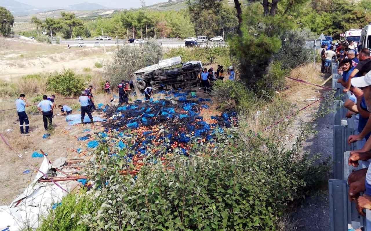 Mersin'de feci kaza 4 ölü 8 yaralı