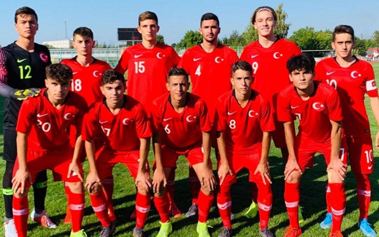 17 Yaş Altı Futbol Takımı Ukrayna'da şampiyon