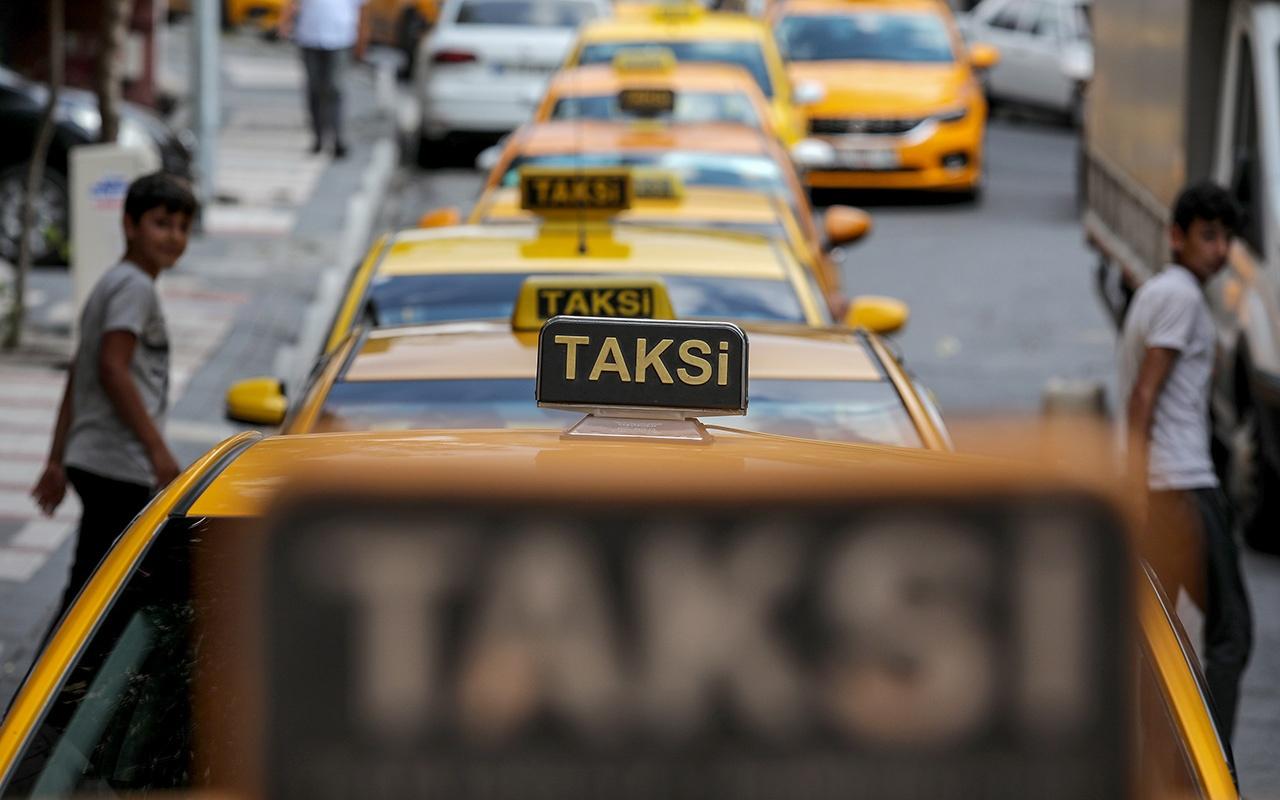 İstanbul'da yüzlerce taksici ayar kuyruğunda