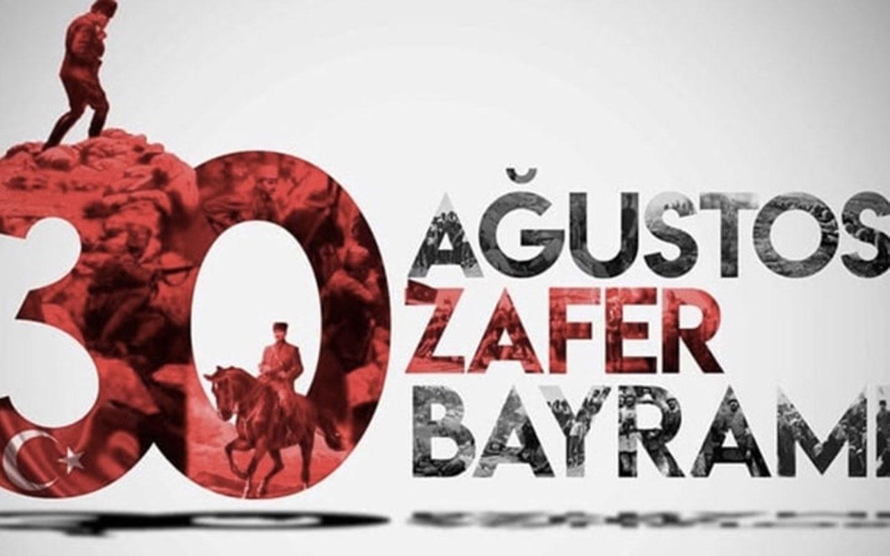 Ünlü isimler de 30 Ağustos Zafer Bayramı'nı özel mesajlarla kutladı