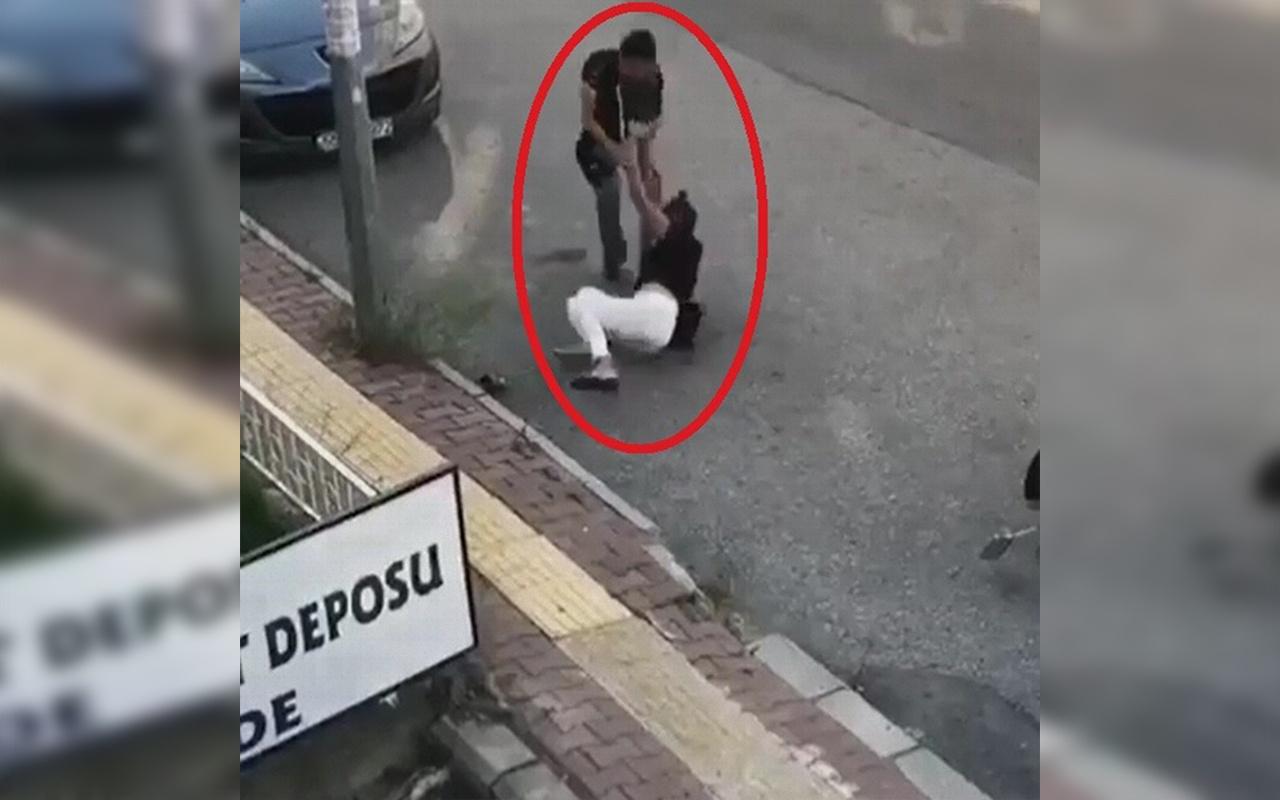 Samsun'da kurye ve müşteri arasında kavga