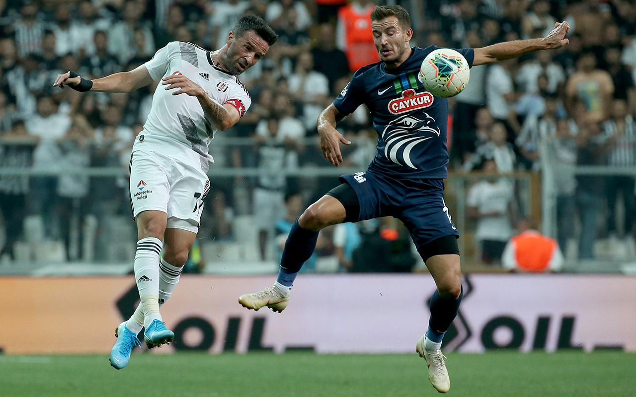 Beşiktaş Çaykur Rizespor maçı golleri ve geniş özeti