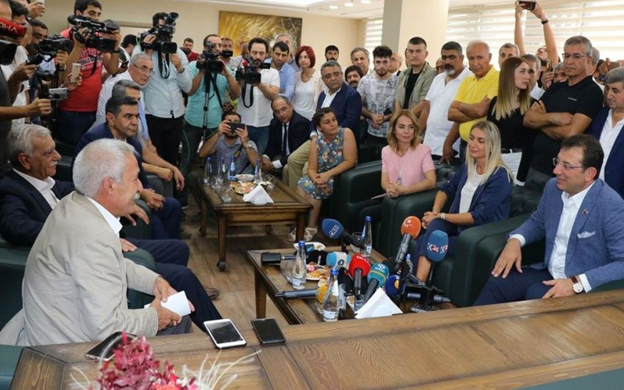Diyarbakır'da HDP'li başkanlarla buluşan İmamoğlu'ndan çarpıcı açıklamalar