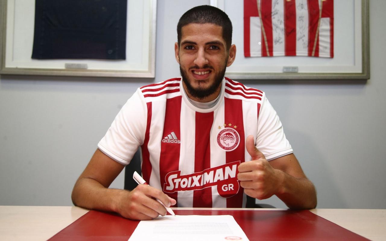 Yassine Benzia, Olympiakos'ta