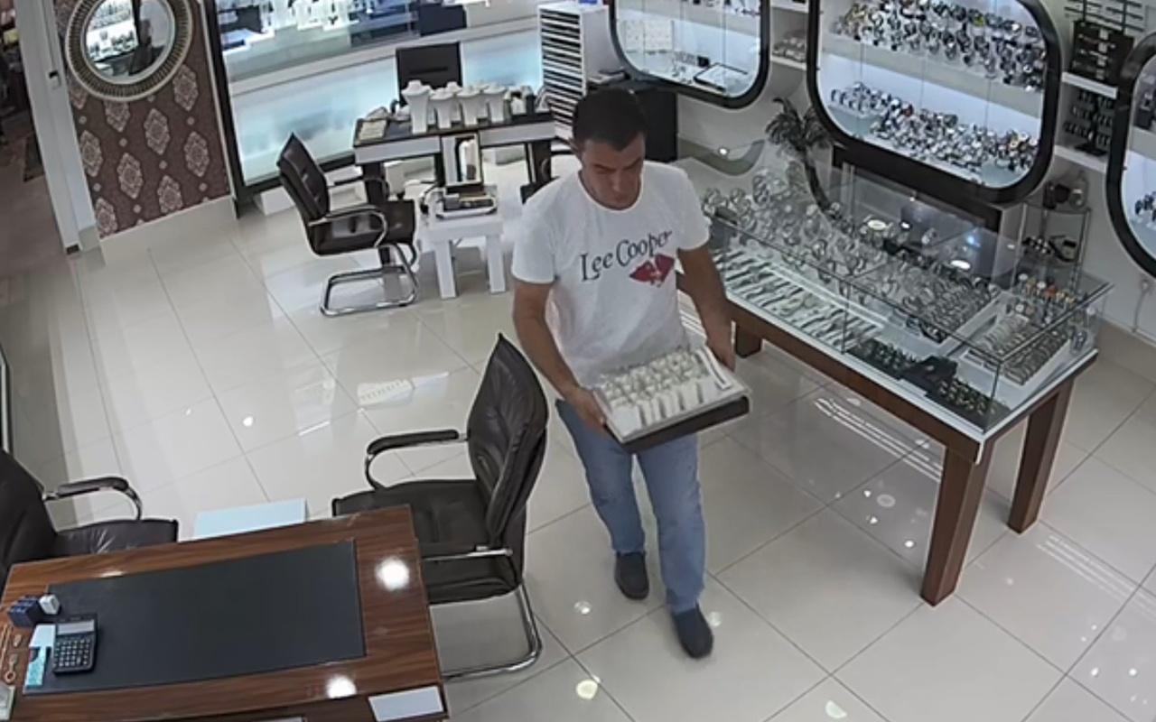 Antalya'da 1,5 kilogram altın çalan şüpheli yakalandı