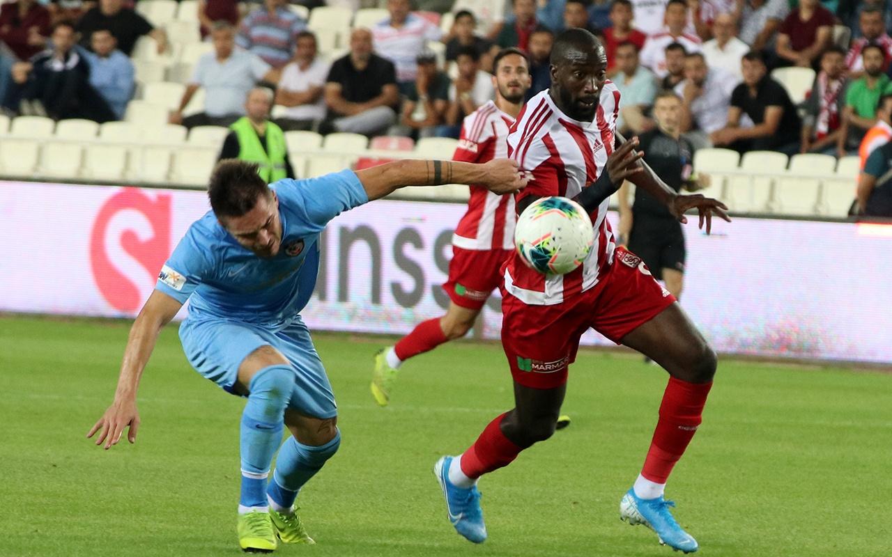 Sivasspor Gazişehir Gaziantep maçı golleri ve geniş özeti
