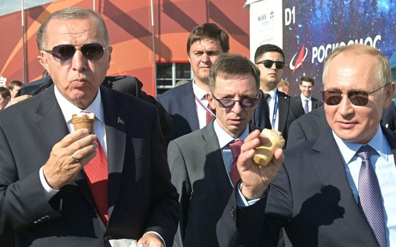 Putin ve Erdoğan'ın renkli görüntülerine sahne olmuştu dondurmacı o anları anlattı