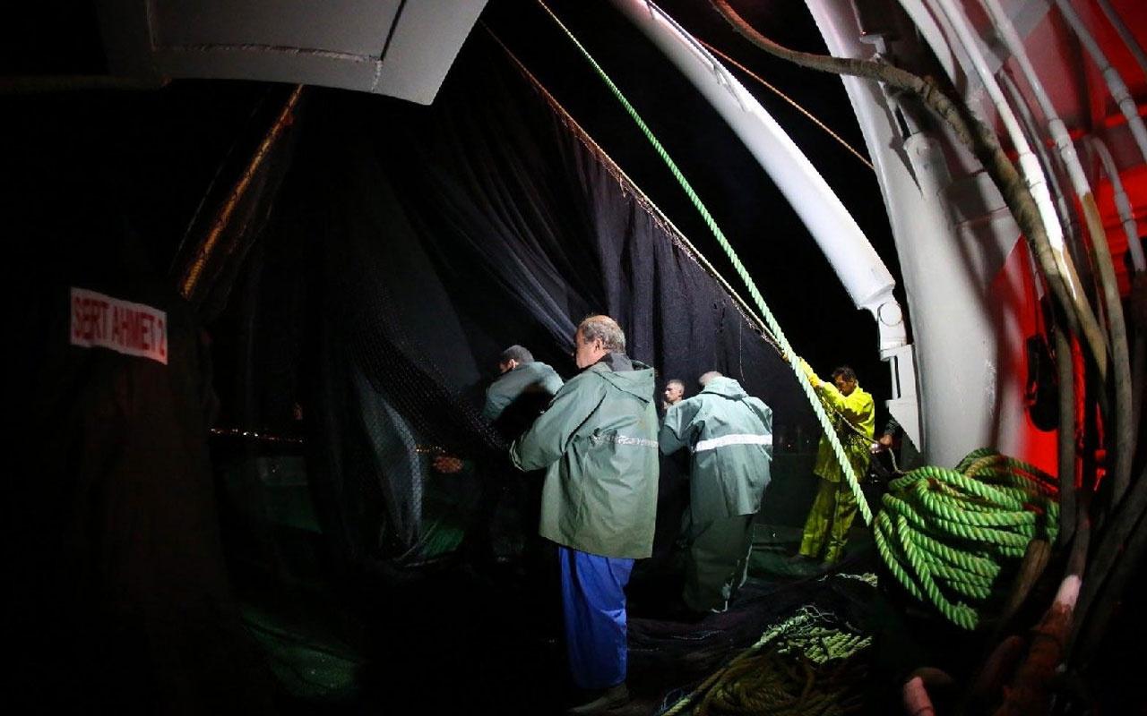 Marmara Denizi'nde balıkçılar ilk gün umduğunu bulamadı