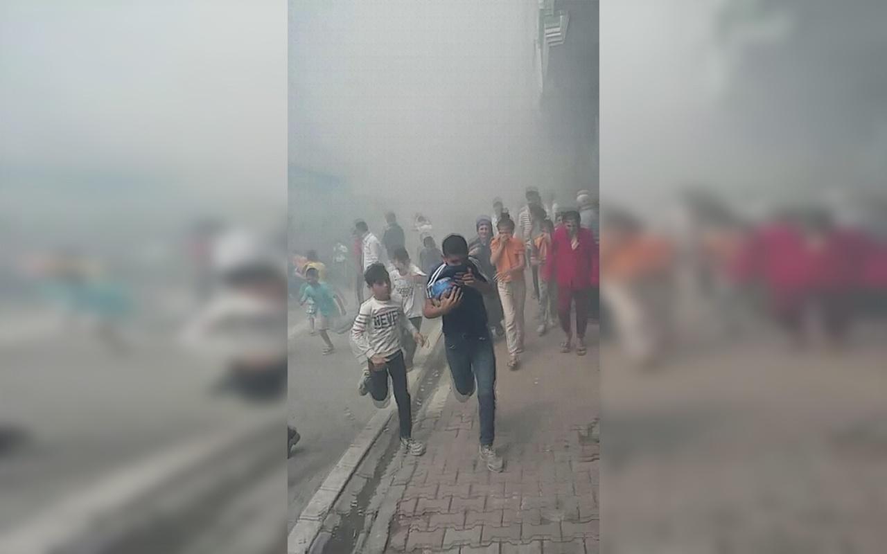 İstanbul Esenyurt'ta riskli binada yangın paniği