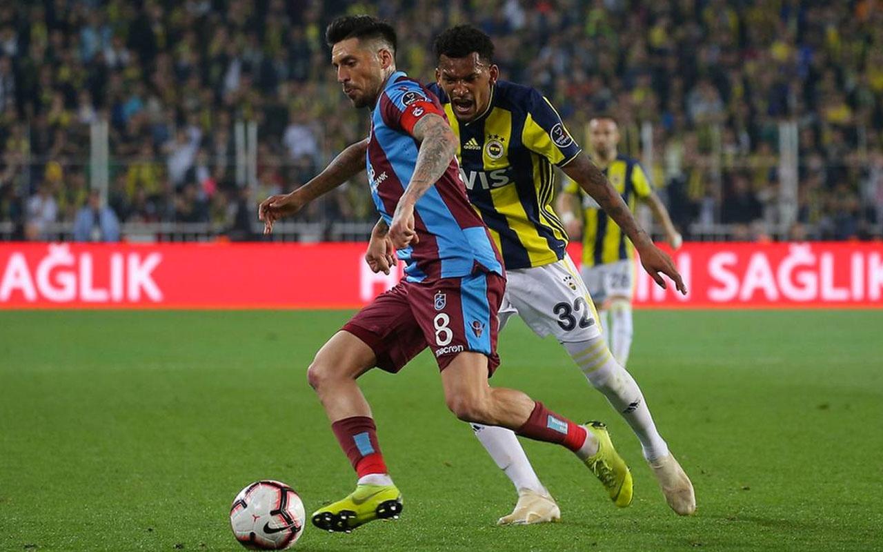 Fenerbahçe Trabzonspor maçı muhtemel 11'leri! Eksikler derbiyi etkileyecek