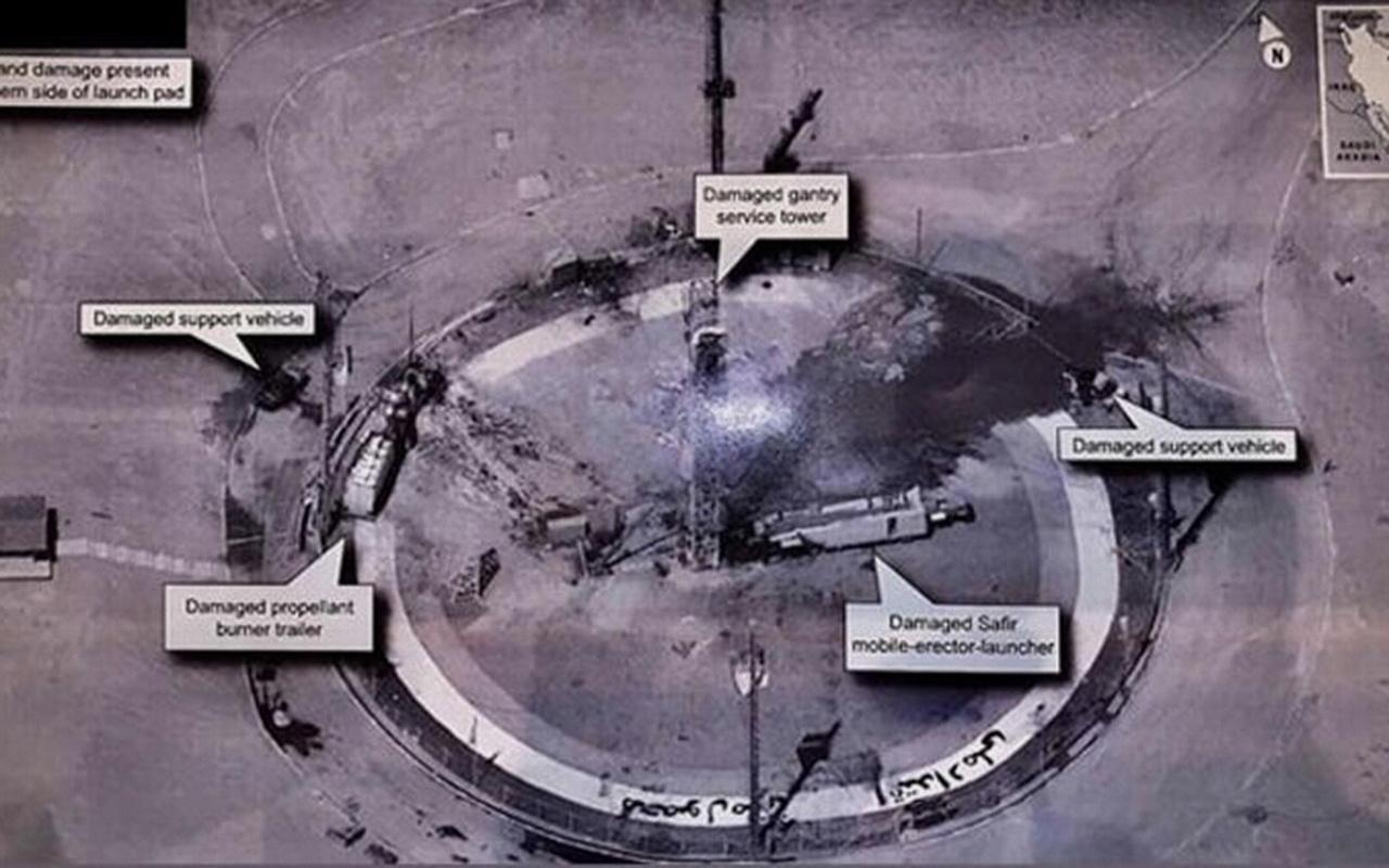 İran'dan açıklama: Roket değil, rampa infilak etti