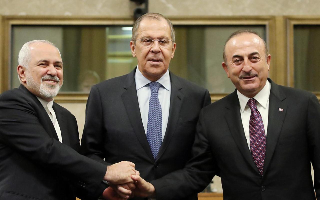 """Rusya ve İran'dan """"güvenli bölge"""" mesajı"""