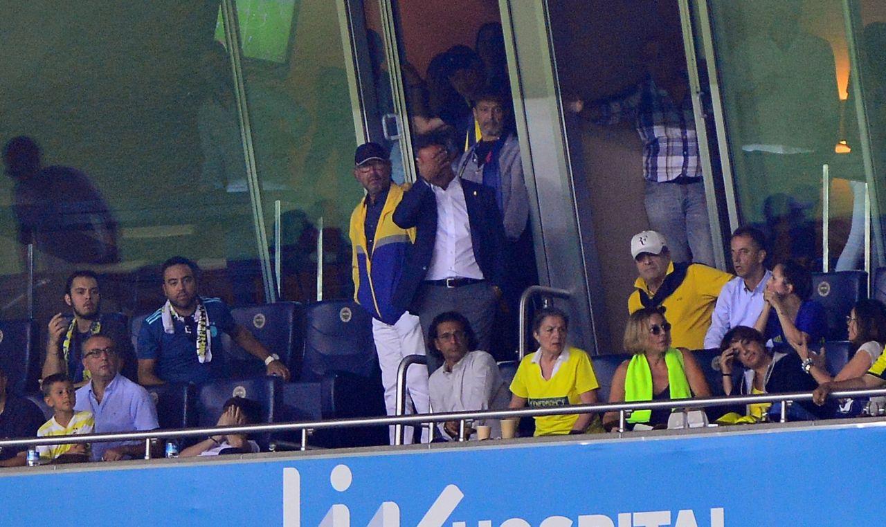 Fenerbahçe Trabzonspor maçında dünyaları kaçırdı Ali Koç kahroldu
