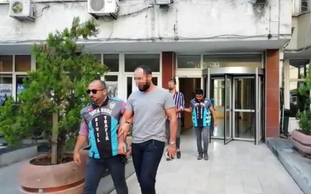 İstanbul'da makas atarak yarışan magandalar yakalandı