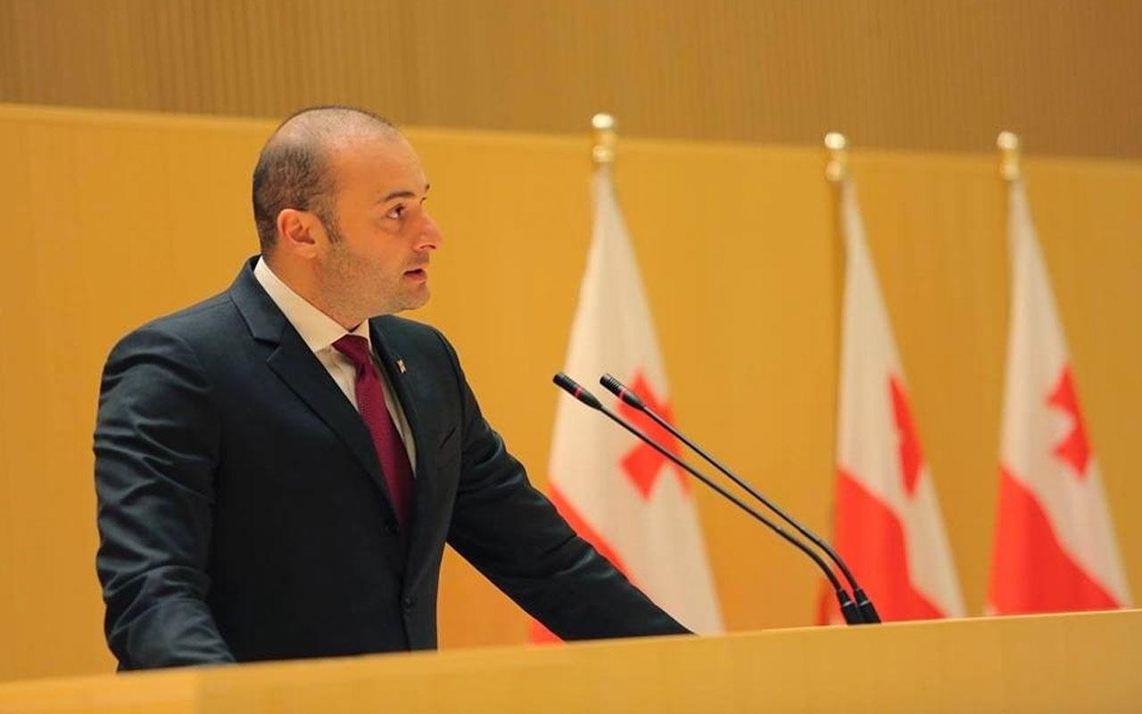 Komşuda deprem! Başbakan Bakhtadze istifa etti