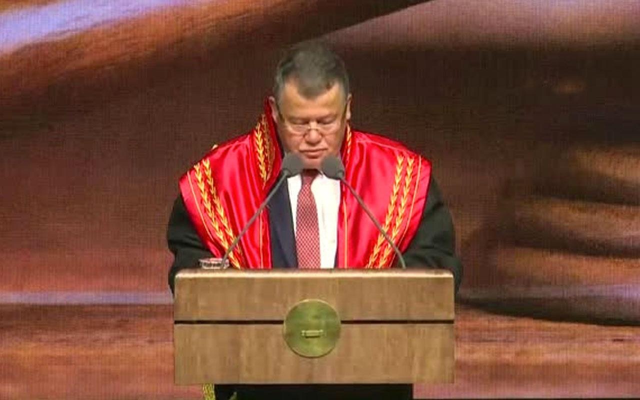 Külliye'de Adli Yıl açılış töreni yapılıyor! Yargıtay Başkan Cirit AP raporunu topa tuttu