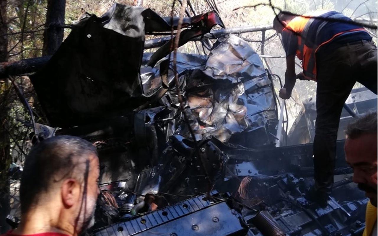 Kastamonu'da kamyon uçuruma yuvarlandı: 2 ölü