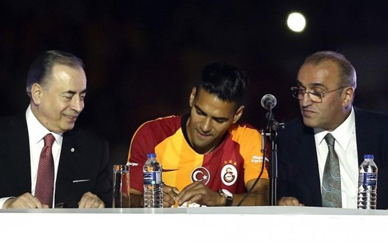 Başkan Cengiz açıkladı! Falcao'nun maaşına sponsor...
