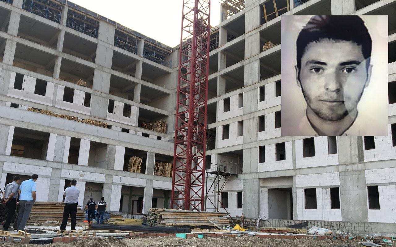 Bursa'da yurt inşaatında çalışan işçi 7'inci kattan düşerek hayatını kaybetti