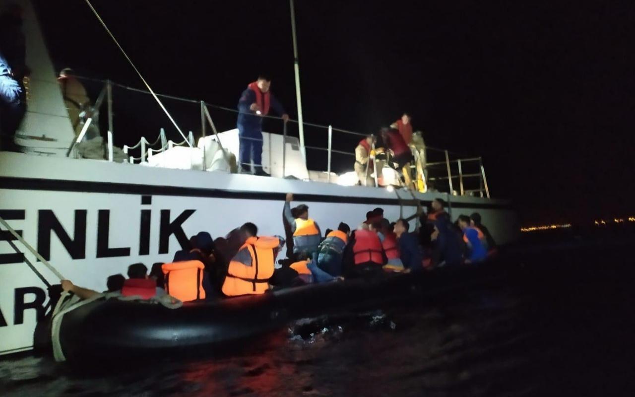 Edirne'de Yunanistan'a geçmeye çalışan 70 kaçak göçmen yakalandı
