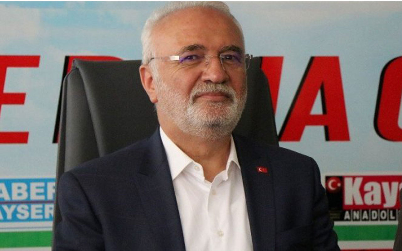 Mustafa Elitaş'tan Ahmet Davutoğlu'na tepki! Hırs uğruna...