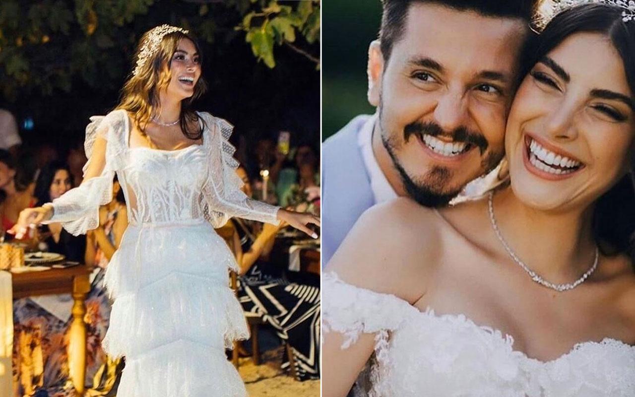 Söz dizisinin savcı Derya'sı Deniz Baysal ile Kolpa grubunun solisti Barış Yurtçu evlendi