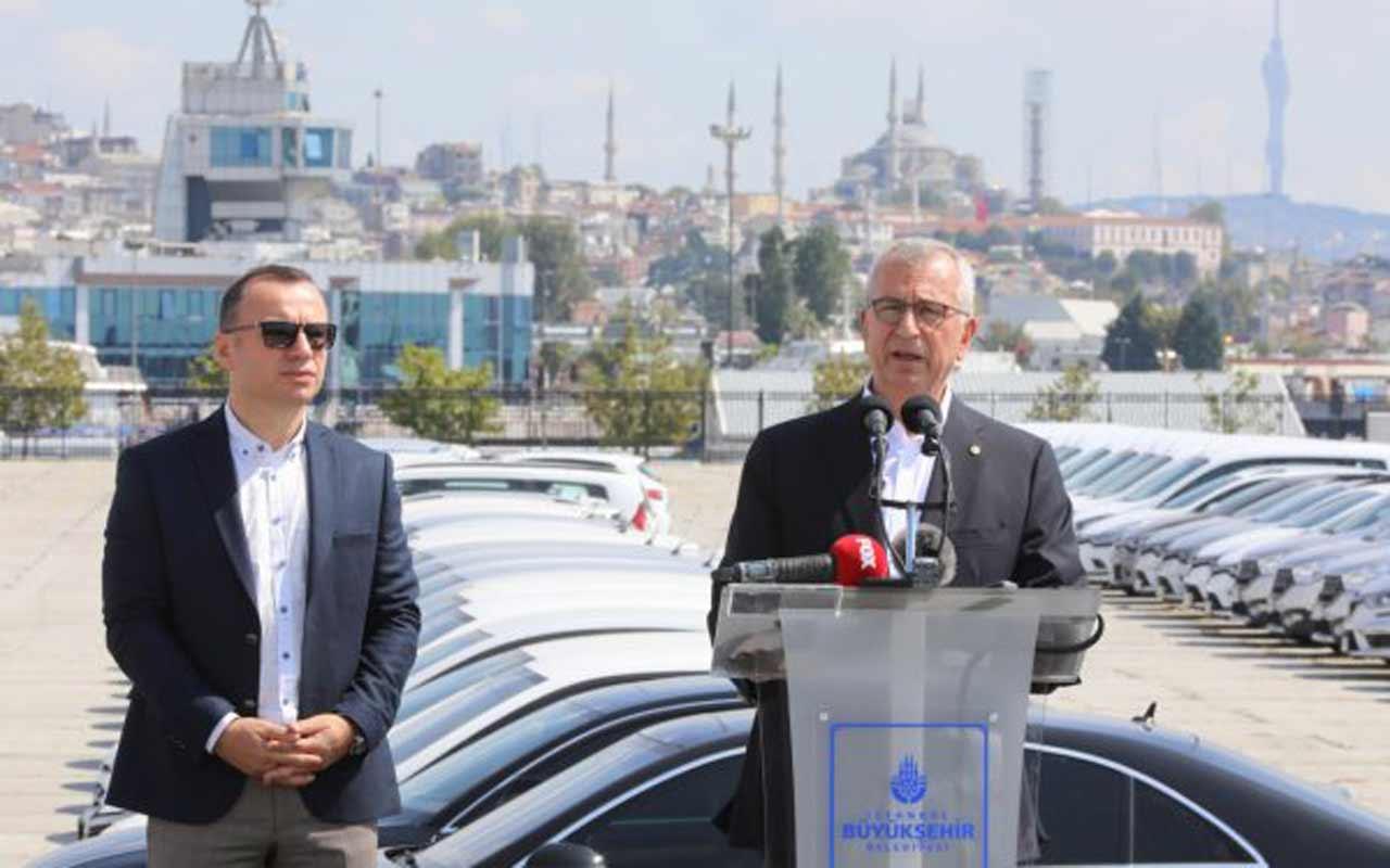 İstanbul Büyükşehir Belediyesi'nden Yenikapı'daki makam araçları açıklaması