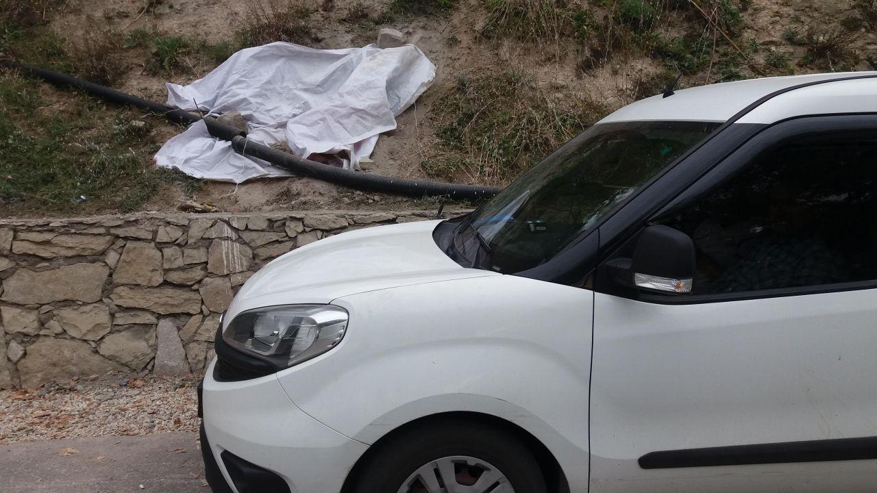 Karabük'te polis aslan figürlü kaya parçası için 3 gün nöbet tuttu