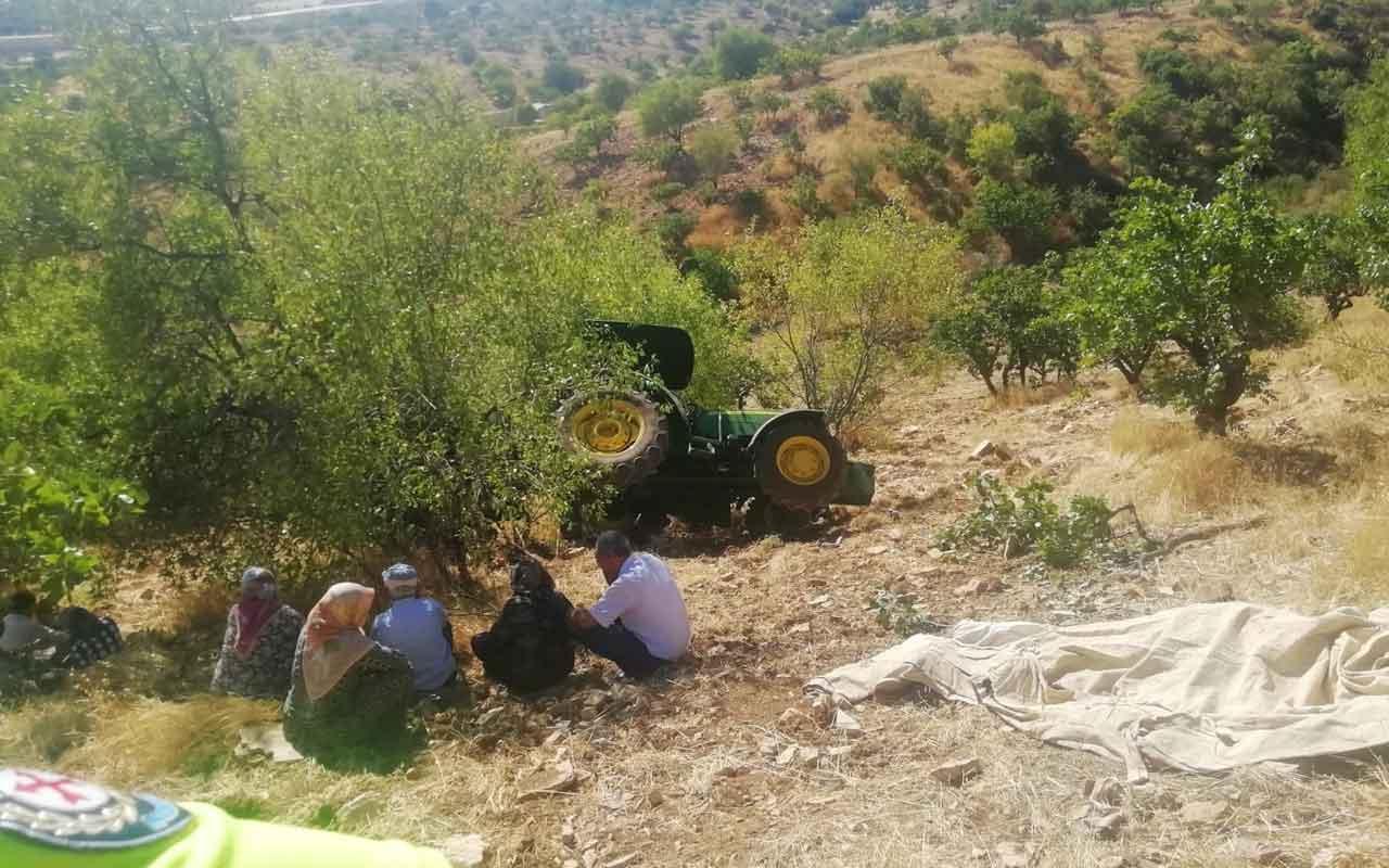 Adıyaman'da traktör takla attı: 1 ölü, 1 yaralı