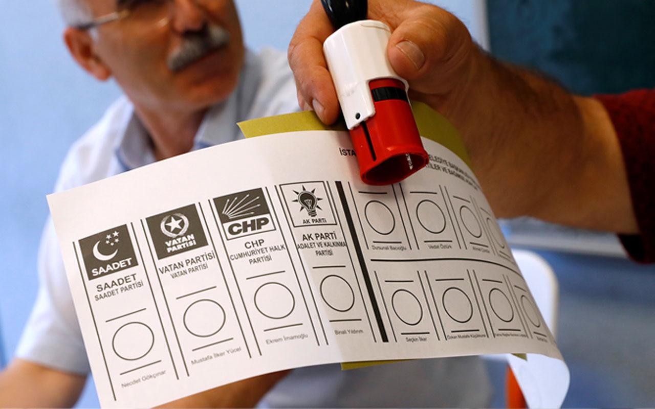 Son yayınlanan anketin sonuçları olay oldu 3 parti baraj altında kalıyor