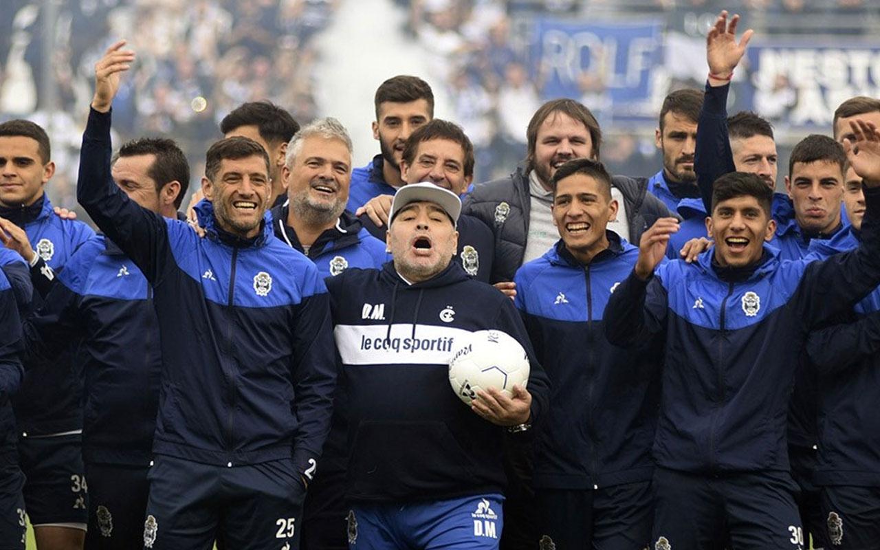 Arjantin'de Maradona çılgınlığı