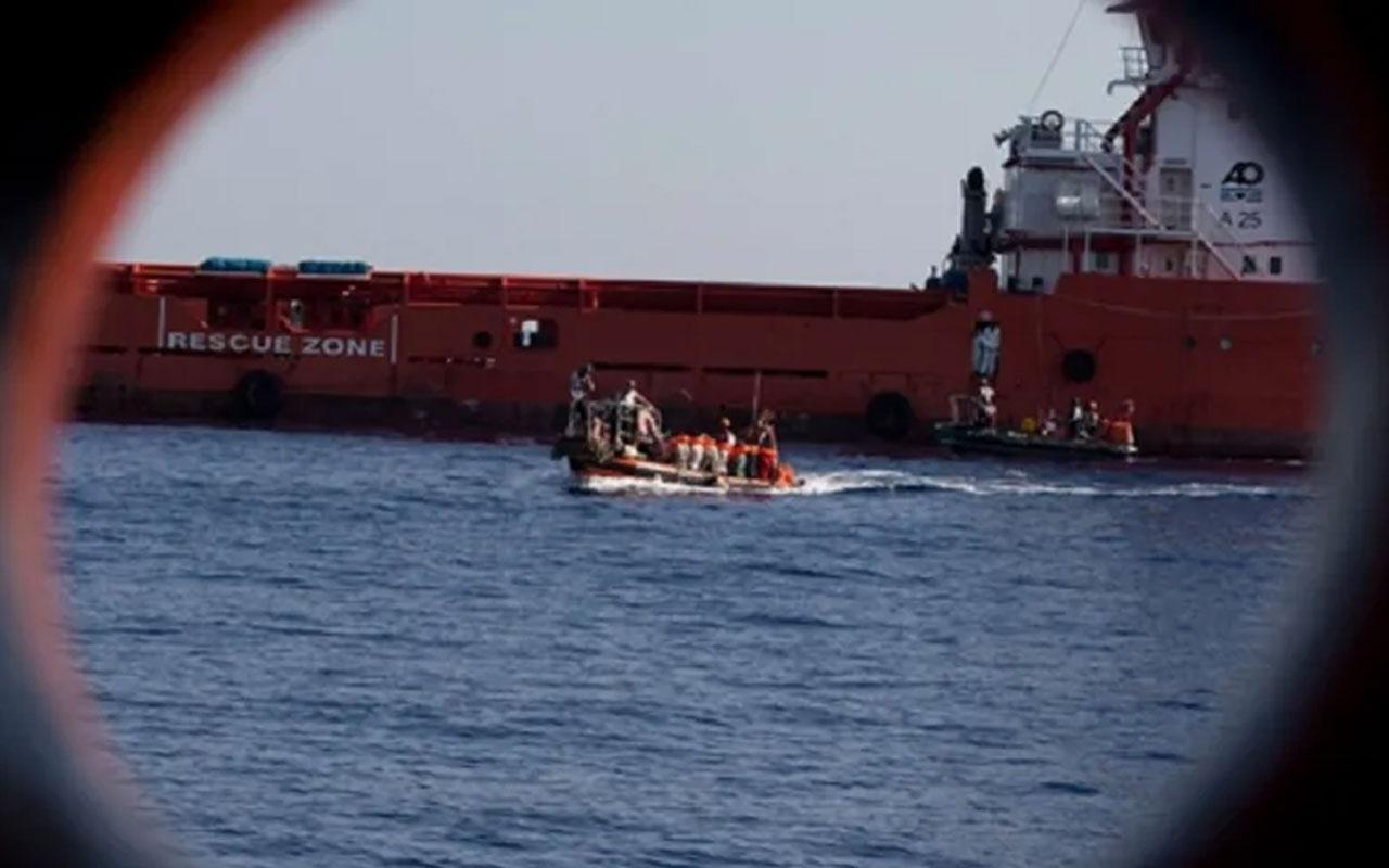 Sahil Güvenlik mülteci botunu batırmaya çalıştı deniyor! İddiaya videolu yanıt